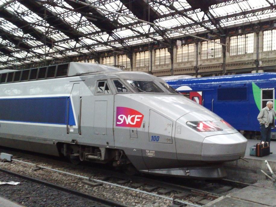 Ekspres TGV /Marek Gładysz /RMF FM