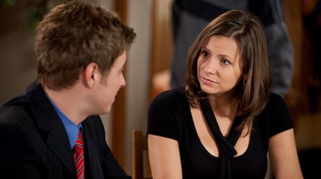 Gosia (Anna Kerth) i Piotr (Maciej Jachowski) /TVN