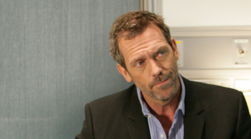 "Hugh Laurie na froncie serialu ""Dr House"" /AXN"