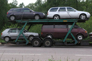 Jadą auta z Niemiec...