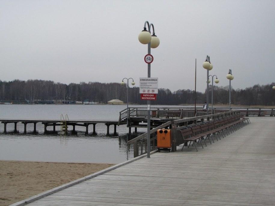 Jedna z olsztyńskich plaż /Andrzej Piedziewicz /RMF FM
