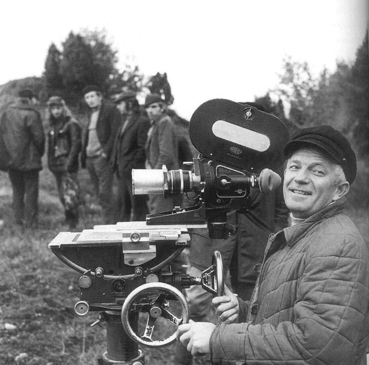 Jerzy Antczak podczas pracy na planie /filmpolski.pl