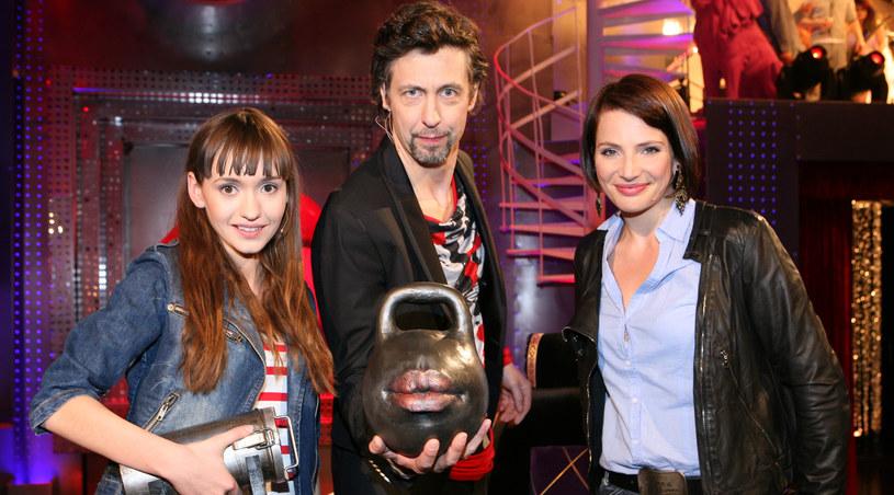 Joanna Osyda, Szymon Majewski, Anna Dereszowska /TVN