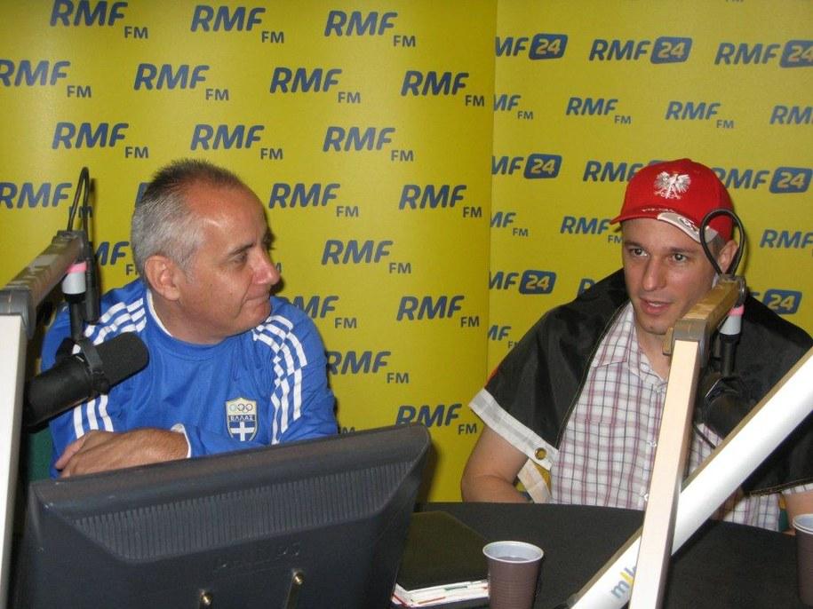 Jorgos Notopoulos i Jan Schurmant /Jaśmina Marczewska /RMF FM
