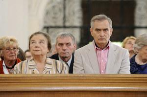 Katarzyna Łaniewska i Olgierd Łukaszewicz od lat deklarują wiarę w Boga /AKPA