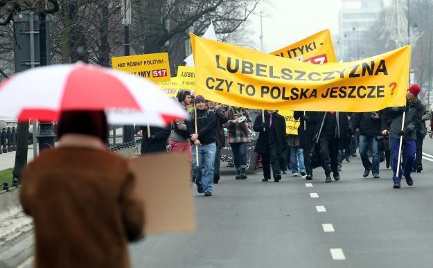 Kolejny protest... /PAP