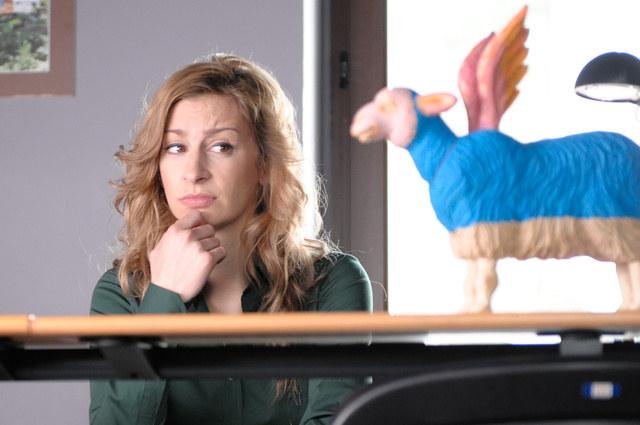 Magda Schejbal jako Ewa /Agencja W. Impact