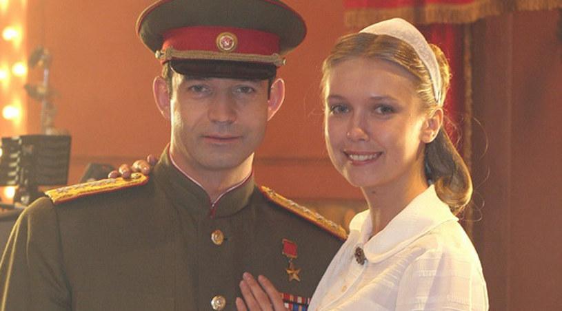 "Magdalena Górska w filmie ""Pokushenye"" /Agencja W. Impact"