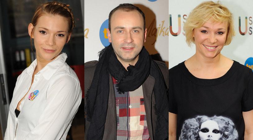 Maja, Kuba oraz Sonia Bohosiewicz /Agencja W. Impact