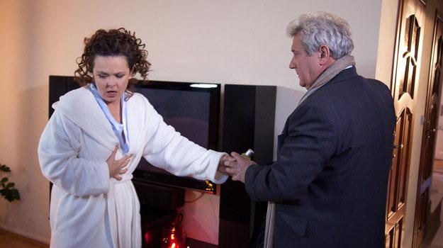 Małgorzata (Edyta Jungowska) i Jurek (Andrzej Grabarczyk) /Agencja W. Impact
