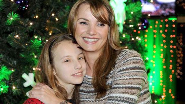 Małgorzata Teodorska z córką /Agencja W. Impact