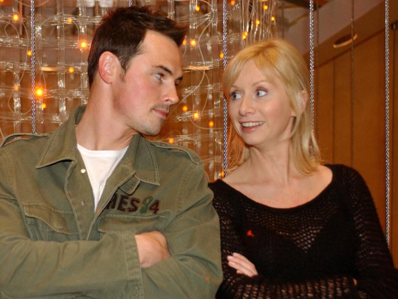 Mąż i żona wspólnie w serialu. /Agencja W. Impact