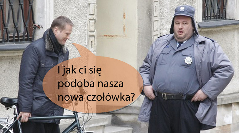 Michał Piela i Artur Żmijewski uliczkę znają w Sandomierzu /Engelbrecht /AKPA