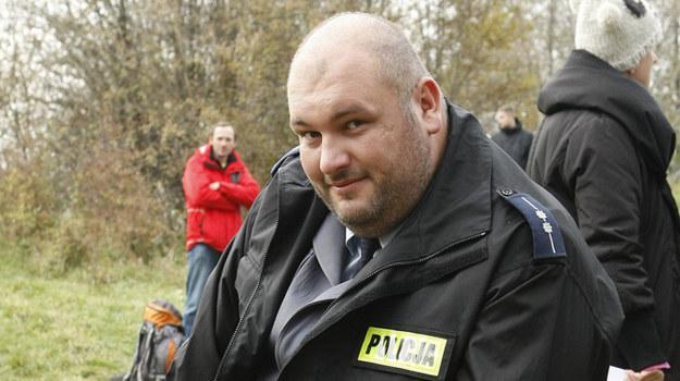 """Michał Piela na planie serialu """"Ojciec Mateusz"""" /AKPA"""