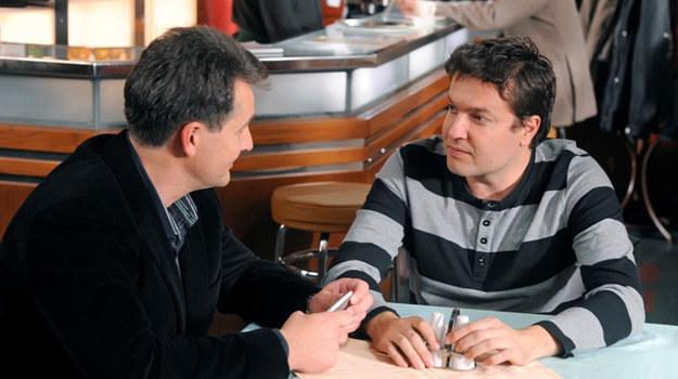 Michał (Robert Kudelski) i Borys (Oleg Sawkin) /TVN