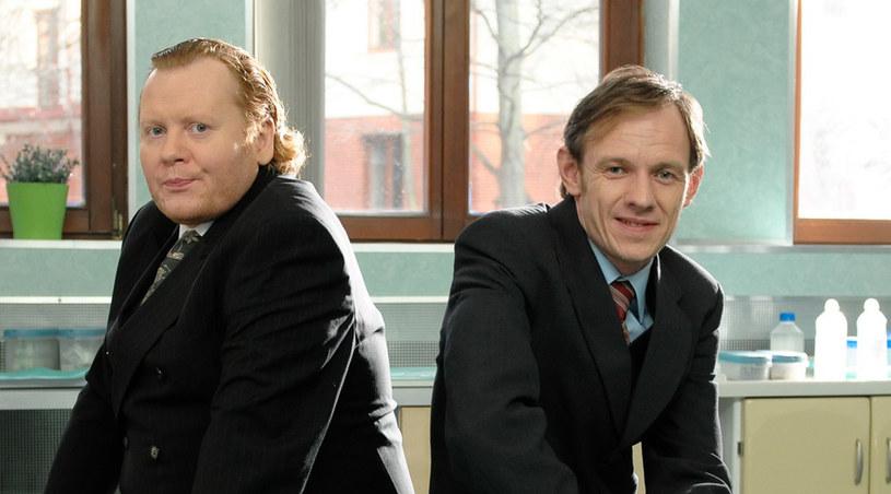 Miłowit (Paweł Iwanicki) i Przybysław (Przemek Sejmicki) /Agencja W. Impact