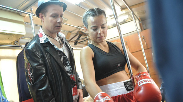 Monika wyjechała do USA robić karierę w boksie /Agencja W. Impact