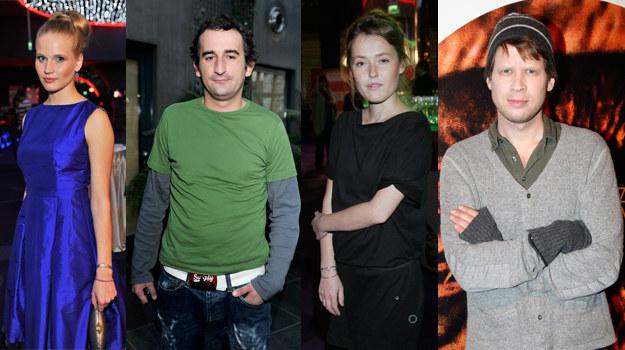 Natalia Rybicka, Michał Koterski, Olga Frycz, Łukasz Garlicki /AKPA