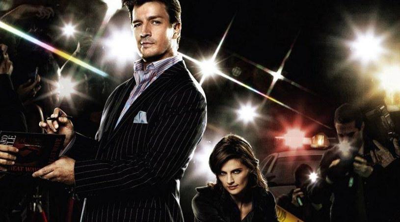 """Nathan Fillion i Stana Katic - główni bohaterowie serialu """"Castle"""" /materiały prasowe"""
