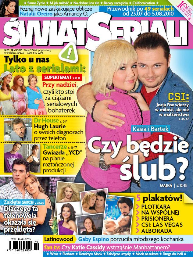 Okładka nowego numeru dwutygodnika /Świat Seriali