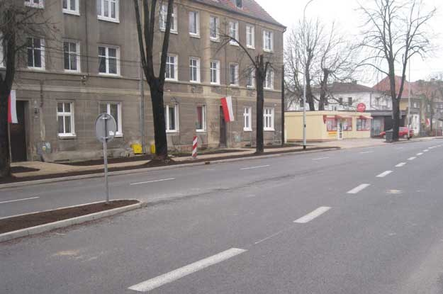 Oto sposób, w jaki zorganizowano ruch na ul. Wyszyńskiego w Gorzowie Wielkopolskim