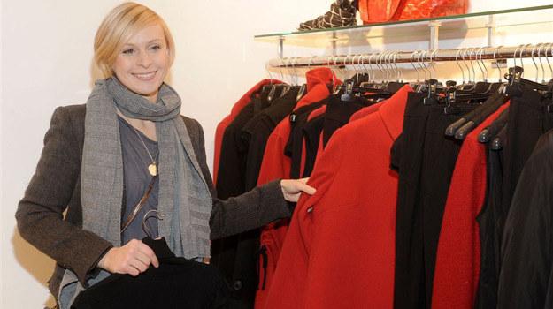 Paulina Holtz wybiera interesujące ubrania /Agencja W. Impact