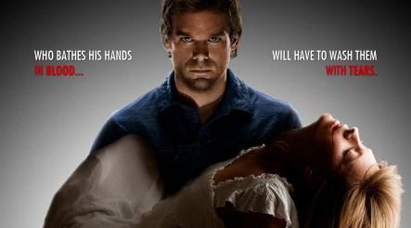 """Plakat najnowszej serii """"Dextera"""" /materiały prasowe"""