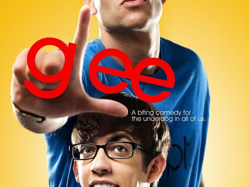 """Plakat promocyjny serialu """"Glee"""" /materiały prasowe"""