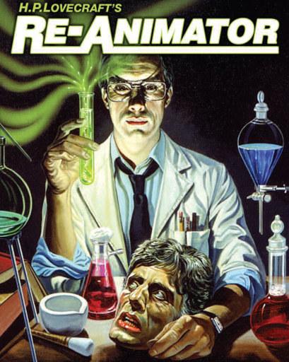"""""""Re-animator"""" z 1985 roku, będący wolną adaptacją tekstu Lovecrafta, pomimo miażdżących recenzji (a może właśnie dzięki nim), szybko stał się obowiązkowym filmem dla miłośników horrorów /"""