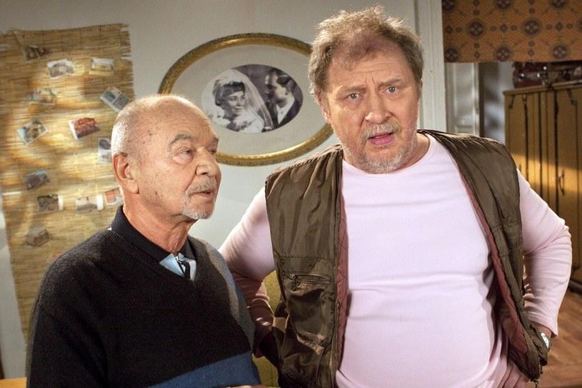 Ryszard Kotys i Andrzej Grabowski - Pażdzioch i Kiepski /Żukowski /AKPA