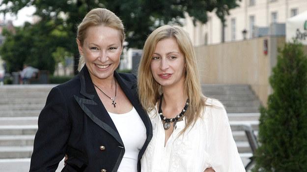 Serialowa mama i córka - Katarzyna Gniewkowska i Magdalena Schejbal /AKPA