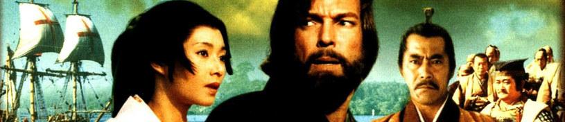 """""""Shogun"""": Według powieści Jamesa Clavella. Przedstawia losy angielskiego pilota okrętowego Johna Blackthorne'a (Richard Chamberlain), rzuconego na niegościnną ziemię siedemnastowiecznej Japonii. Serial zdobył trzy statuetki Złotego Globu /materiały prasowe"""