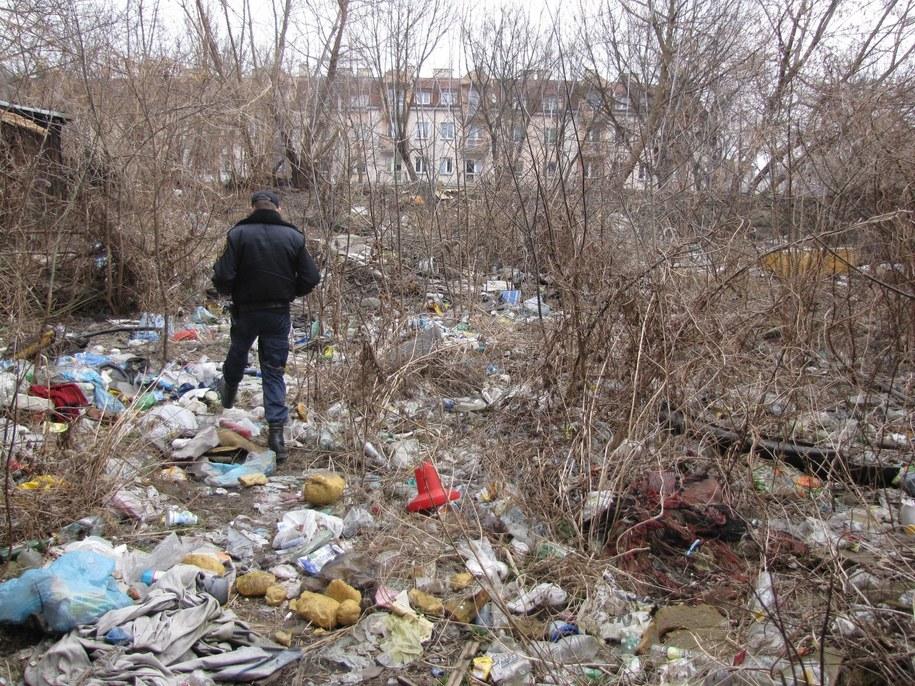 Tak wygląda składowisko przy ulicy Wspólnej w Lublinie /Krzysztof Kot /RMF FM
