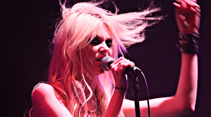 Taylor Momsen podczas koncertu z The Pretty Reckless /Splashnews