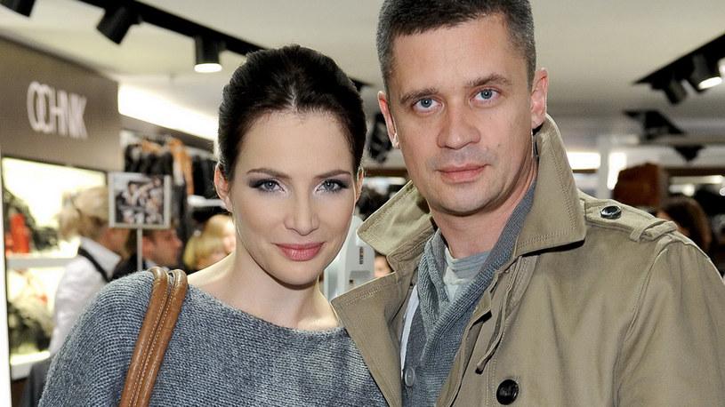 Wśród zaproszonych gości byli Anna Dereszowska i jej życiowy partner Piotr Grabowski /Agencja W. Impact