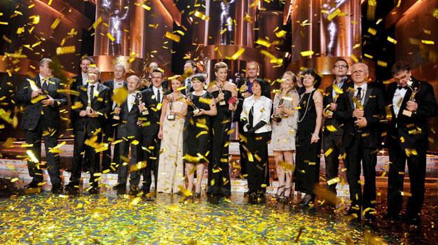 Wszyscy laureaci nagród Telekamer TeleTygodnia 2011 /Agencja W. Impact