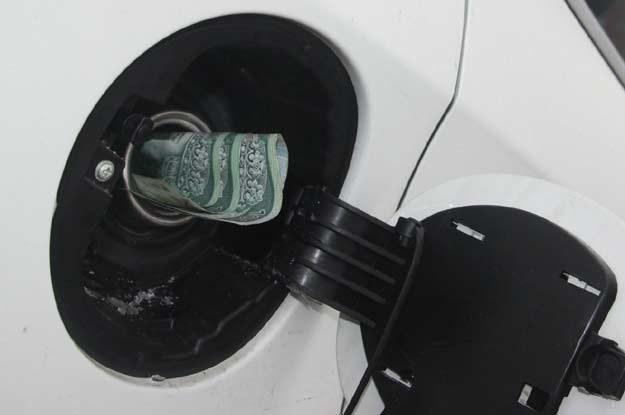 Zaskoczyły mnie obserwacje pod dystrybutorem paliwa