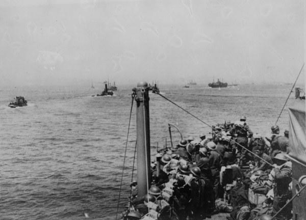 Ewakuacja spod Dunkierki /Keystone/Getty Images