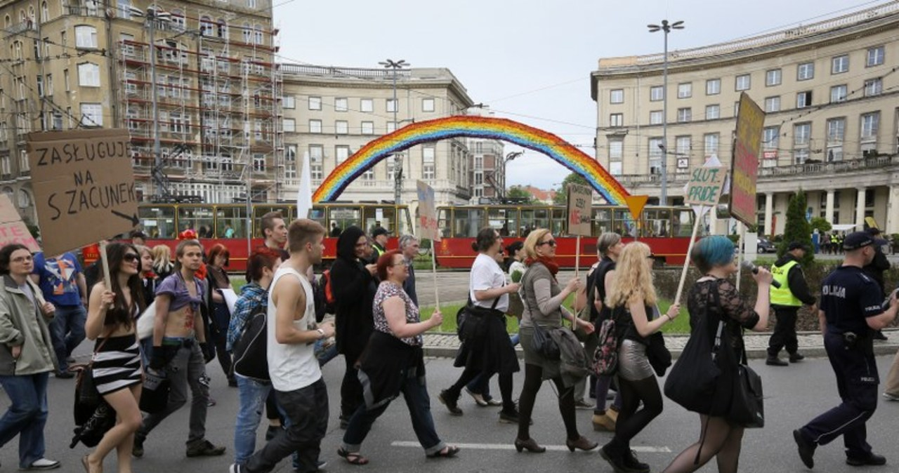 """""""Marsz Szmat"""" przeszedł ulicami Warszawy"""