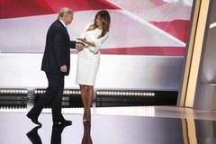 """""""Melania Trump w sukience ślubnej dała czadu podczas konwencji republikanów"""""""