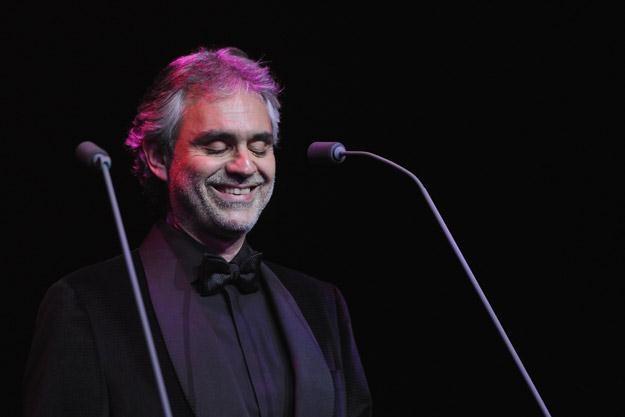 Andrea Bocelli jest niewidomy od 12. roku życia - fot. Mike Coppola /Getty Images/Flash Press Media