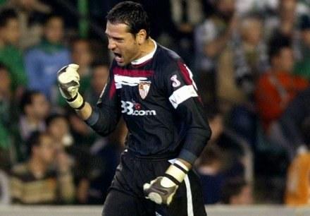 Andres Palop długo będzie wspominał mecz w Doniecku /AFP