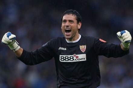Andres Palop - prawdziwy bohater FC Sevilla /AFP