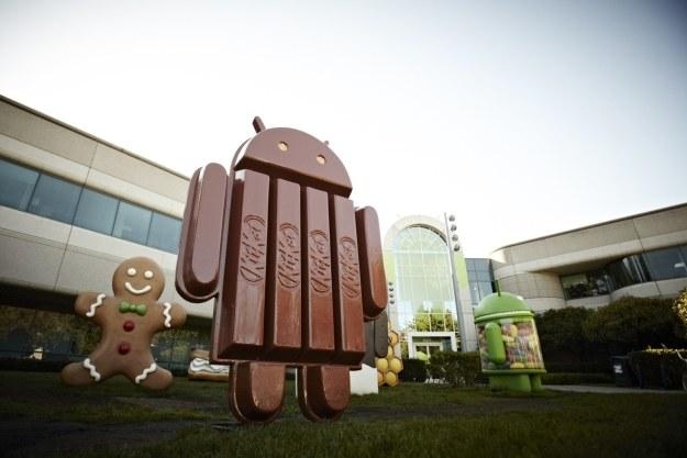 Android KitKat może wprowadzić zmiany nie tylko w nazewnictwie systemu Google /AFP