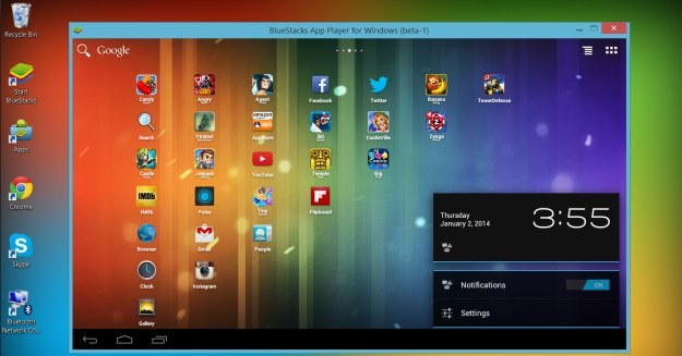 Android na komputerze z Windowsem /materiały prasowe