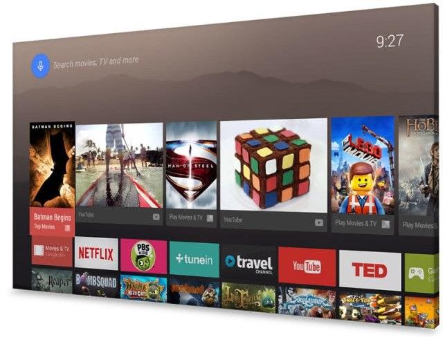 Android TV - drugie podejście Google do Smart TV. Firma zapowiedziała partnerstwo z Sharp, Sony oraz Philipsem. Czekamy na telewizory /materiały prasowe