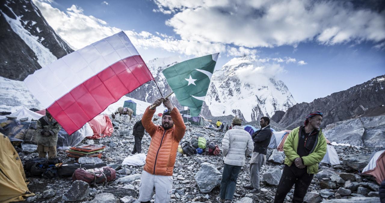 Andrzej Bargiel w drodze na K2