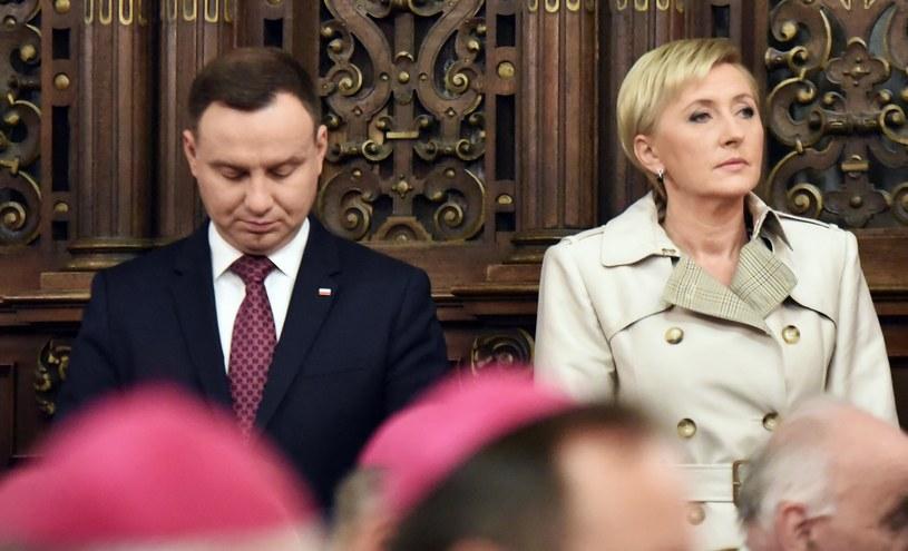 Andrzej Duda, Agata Kornhauser-Duda /Jan Graczyński /East News