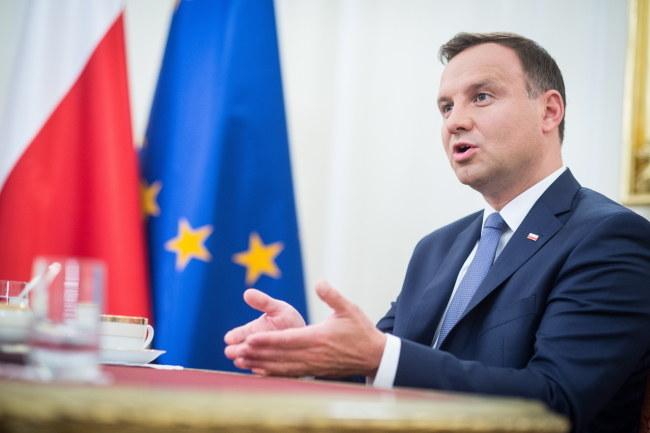 Andrzej Duda: Były harcerz, obecny prezydent /Jacek Turczyk /PAP