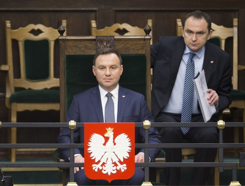 Andrzej Duda i Adam Kwiatkowski /Andrzej Iwańczuk /Reporter
